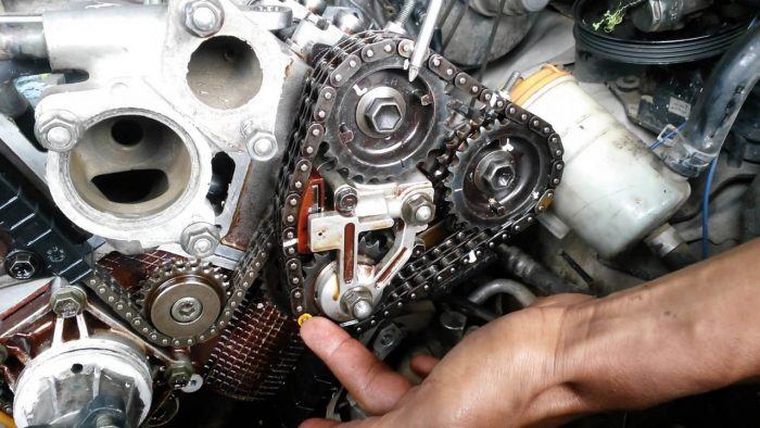 Sincronizacion De Cadena Tiempo Para  Suzuki Xl Motor