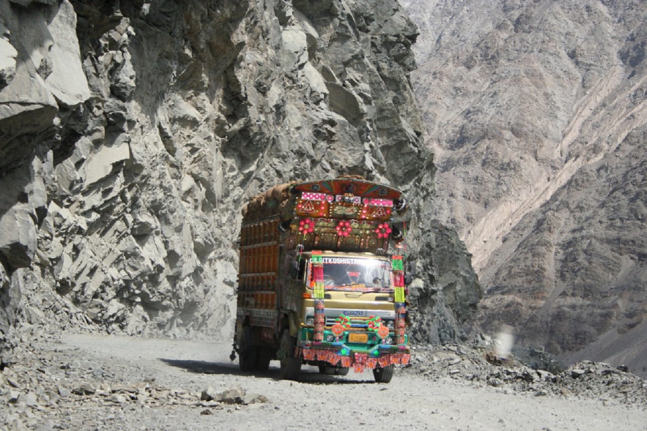 camion pakistani