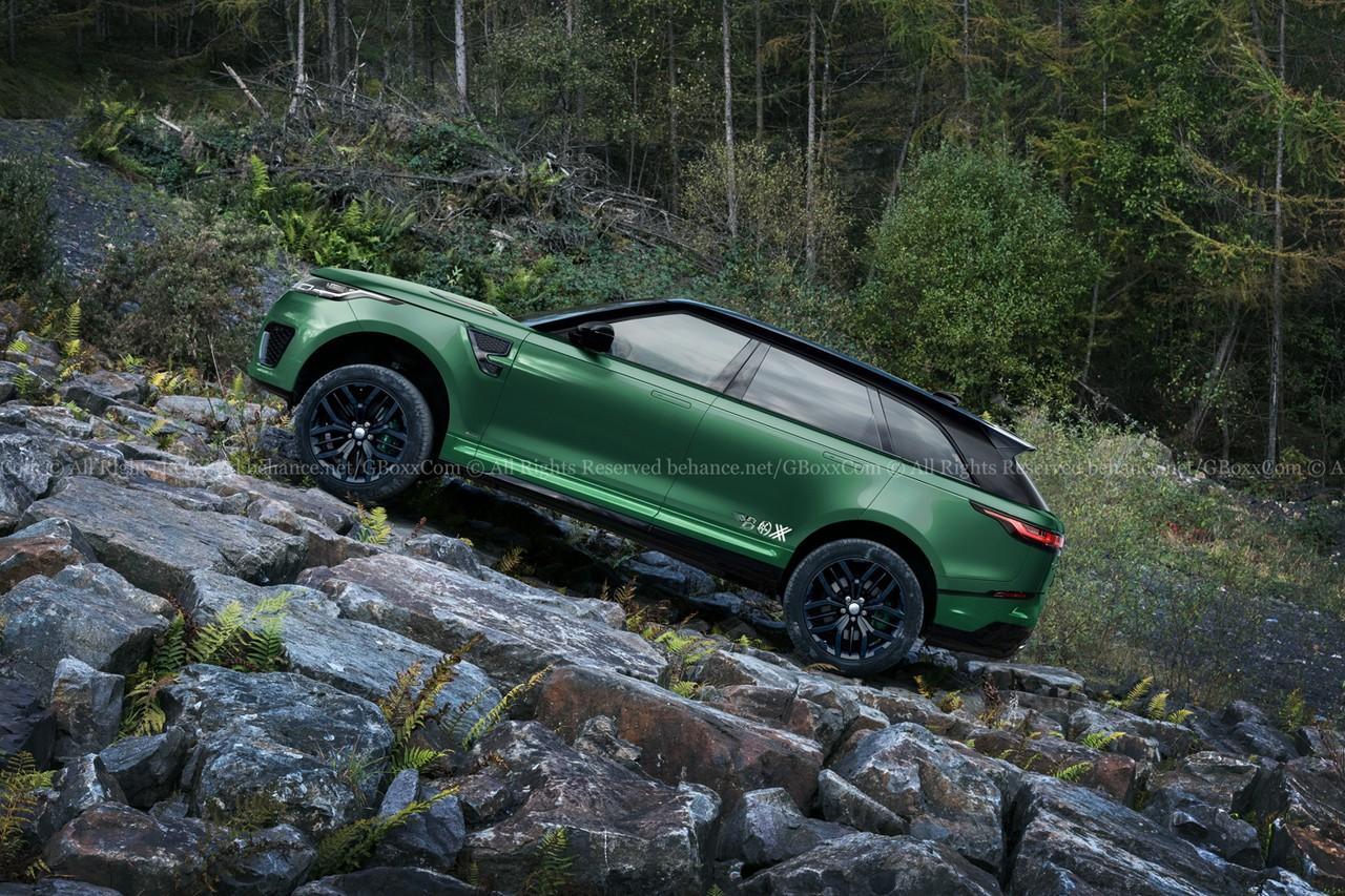 El Range Rover Velar Svr Cazado En Nurburgring
