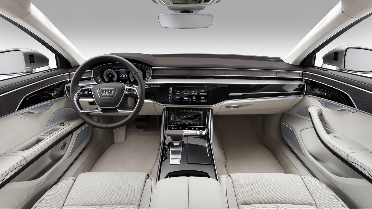 Audi A8 2018: Precios, motores, equipamientos