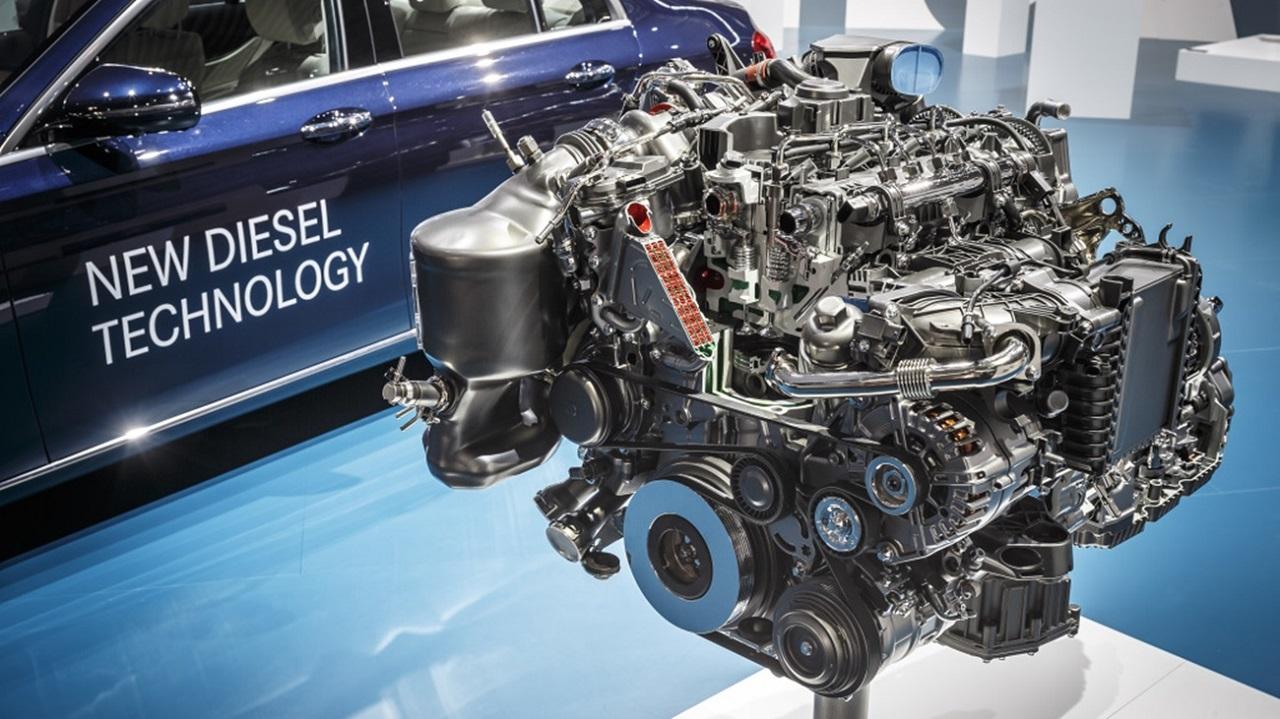 Der neue Vierzylinder-Diesel OM 654