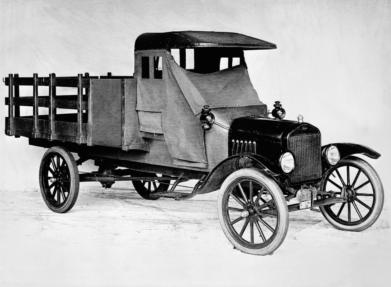 Model TT Truck- In 1917