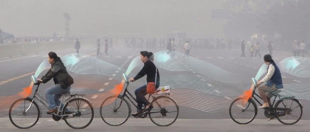 bicicletas que limpian el aire