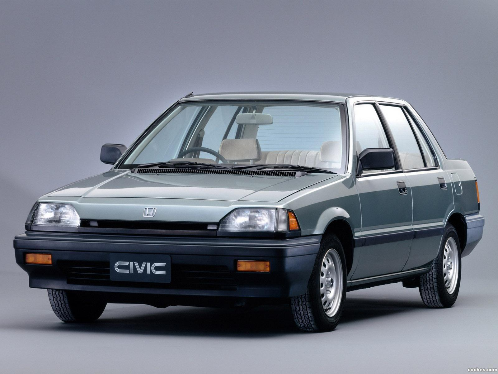 fotos de honda civic sedan 1983. Black Bedroom Furniture Sets. Home Design Ideas
