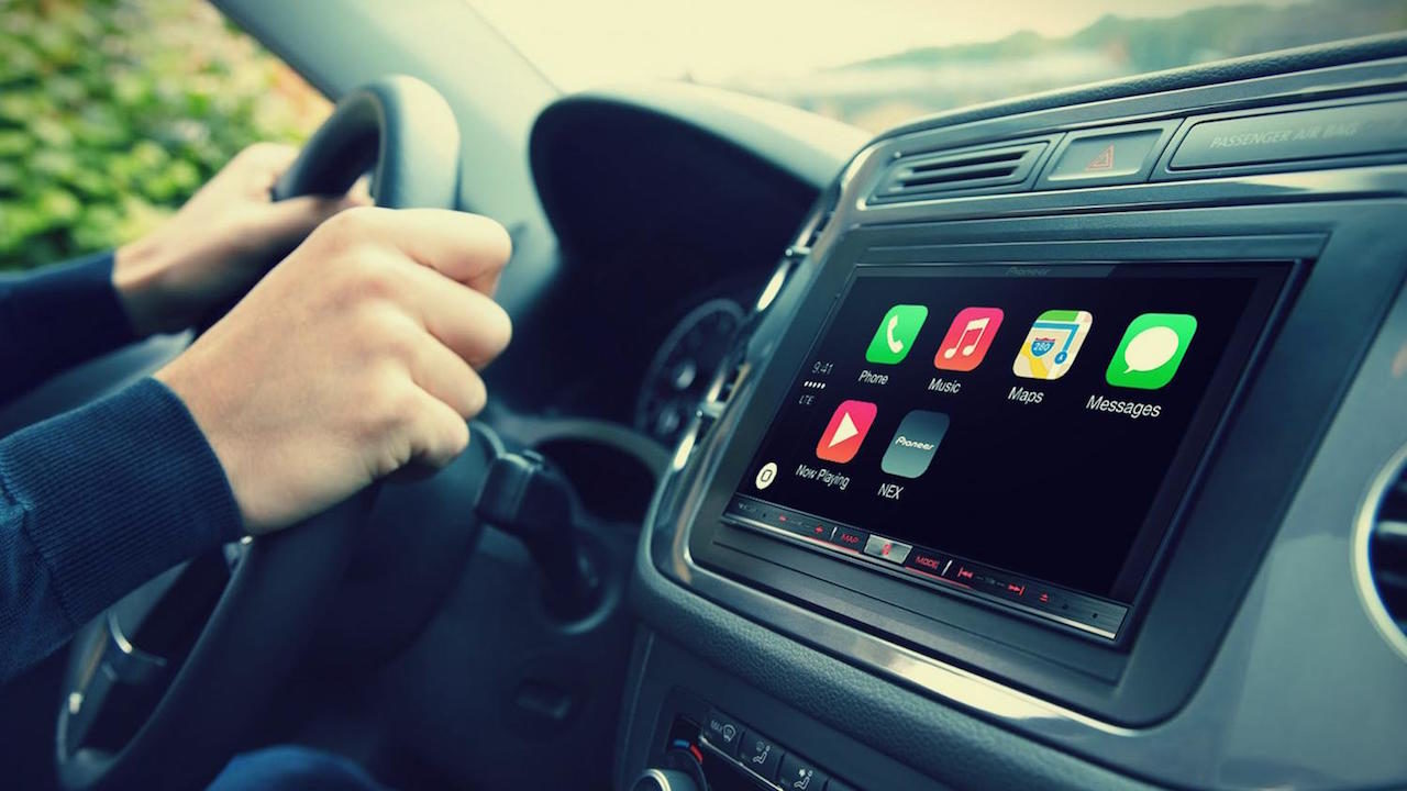 sistema infoentretenimiento apple carplay