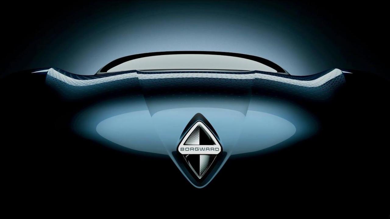 Borgward teaser prototipo