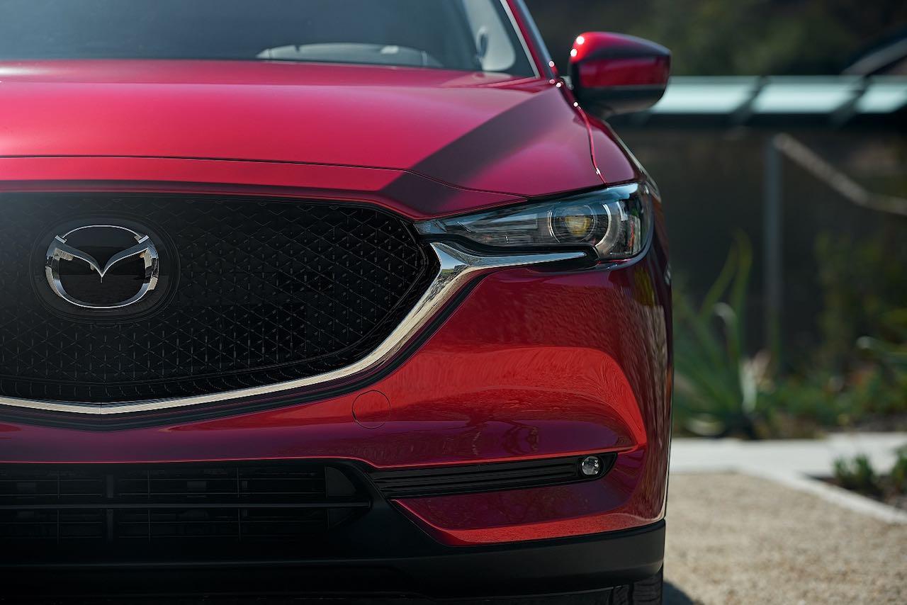 Mazda frontal
