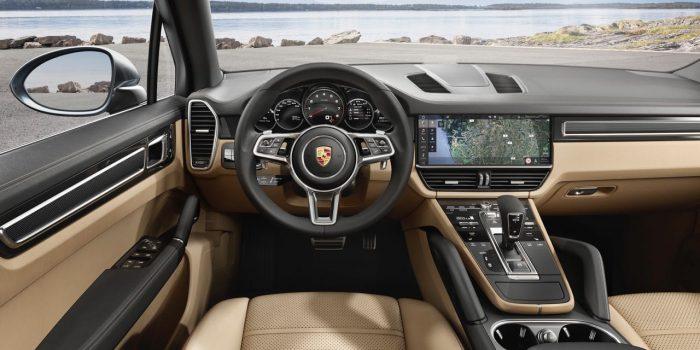 Porsche Cayenne 2018. Salpicadero
