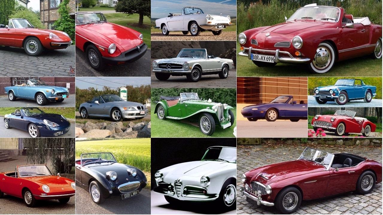 TOP 25 cabrios