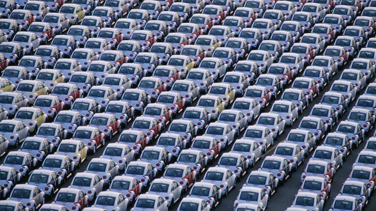 Volkswagen New Beetle stock