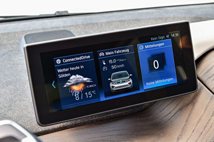 BMW i3 2018 multimedia