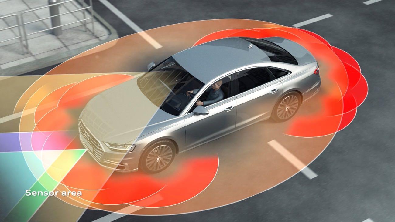 Audi A8 2018 escaner laser – 7