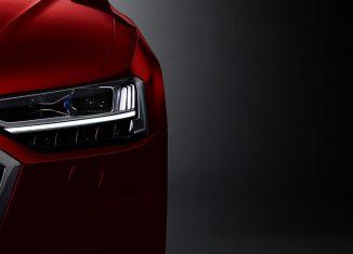 Audi A8 faro