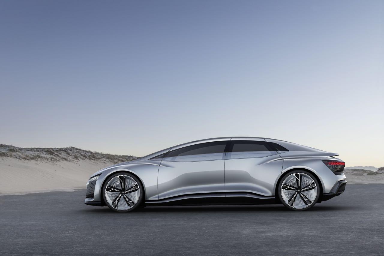 Audi Aicon Concept 2017 lateral