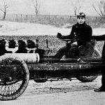 Barney Oldfield en coche