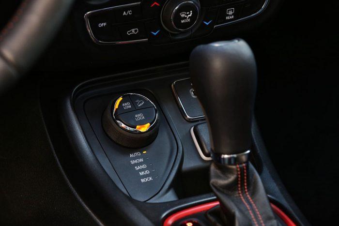 Interior Jeep Compass Trailhawk 2017