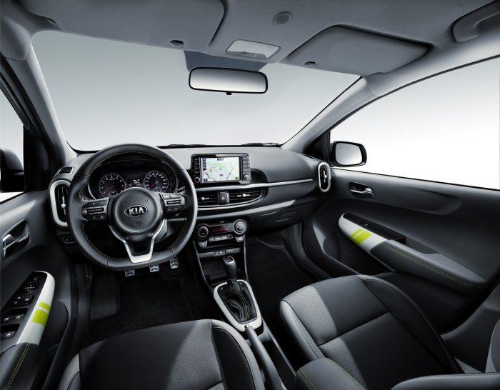 Kia Picanto X-Line interior
