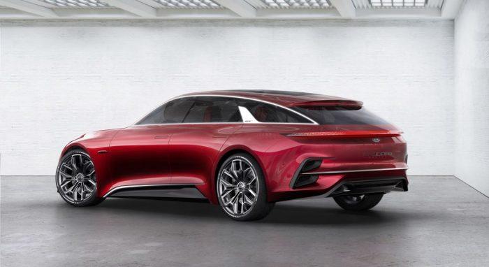 Kia Proceed Concept trasera