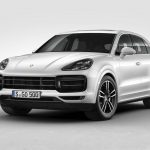Porsche Cayenne Turbo 2018 frontal