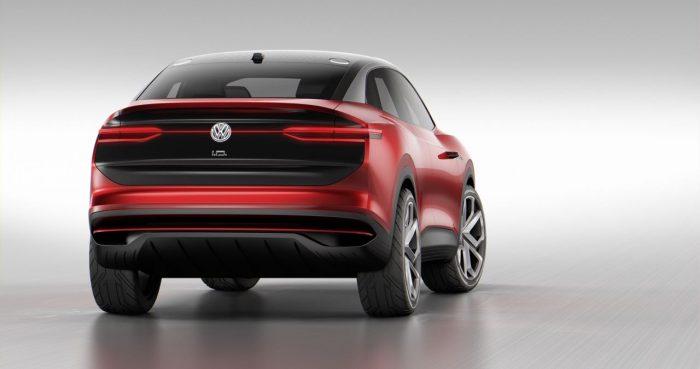 Volkswagen I.D. Crozz 2017 trasera