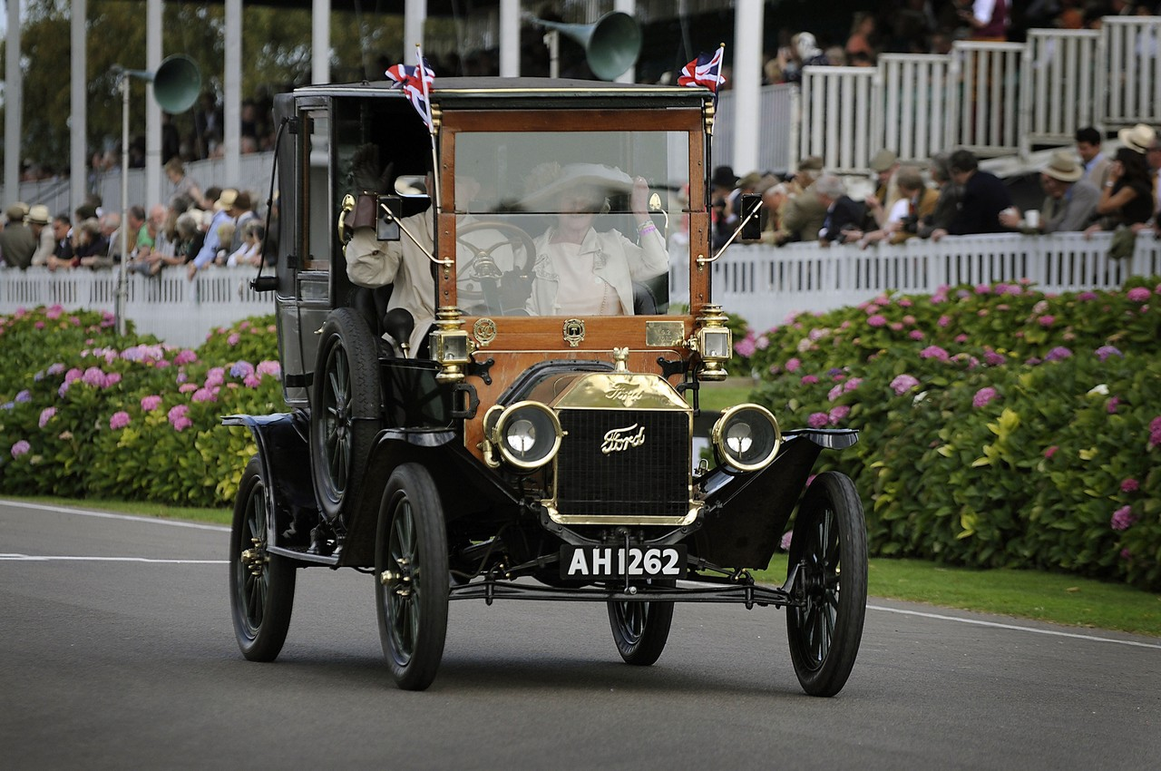 Ford Model T in the Centenary parade (UK)