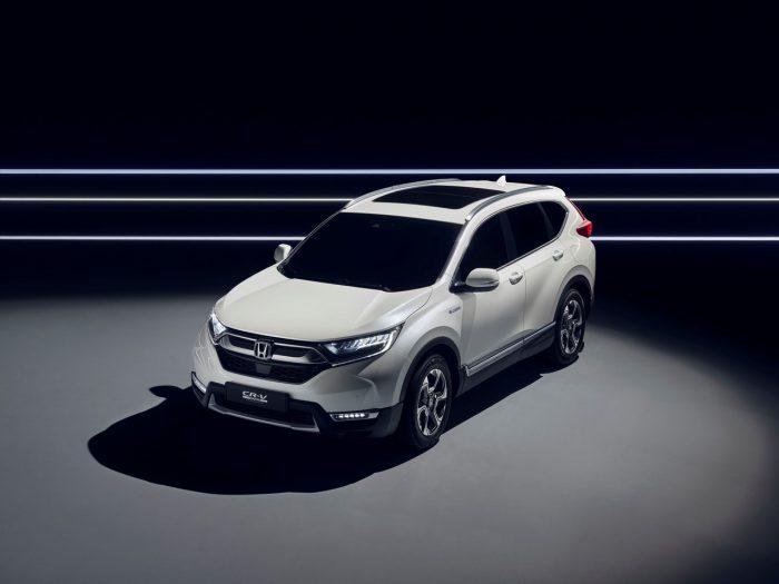 Honda CR-V Hybrid Prototype frontal