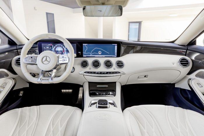 Mercedes Clase S Coupé 2018 interior