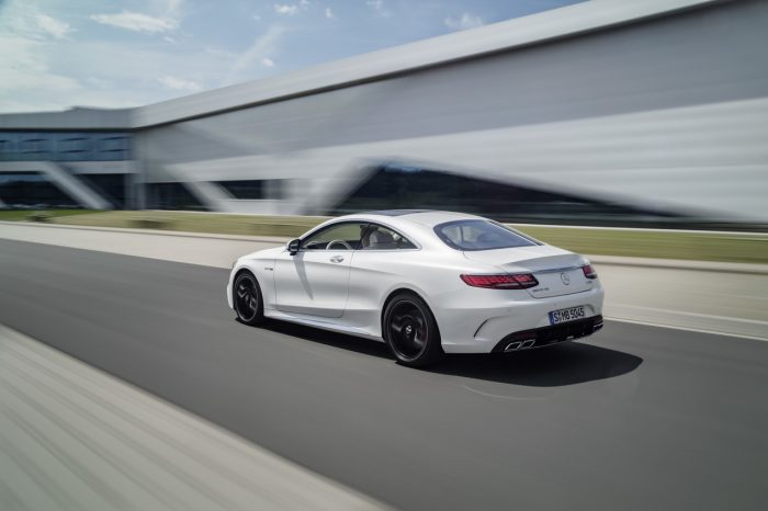 Mercedes Clase S Coupé 2018 dinámica
