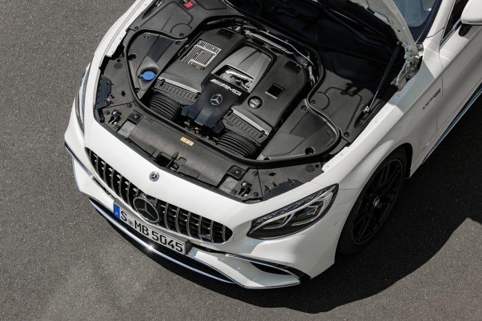 Mercedes Clase S Coupé 2018 motor