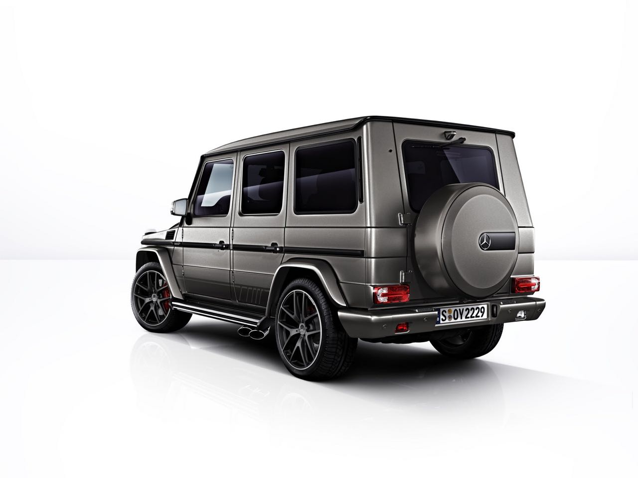 Mercedes-AMG G 65 Exclusive Edition trasera