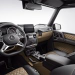 Mercedes-AMG G 63 Exclusive Edition interior