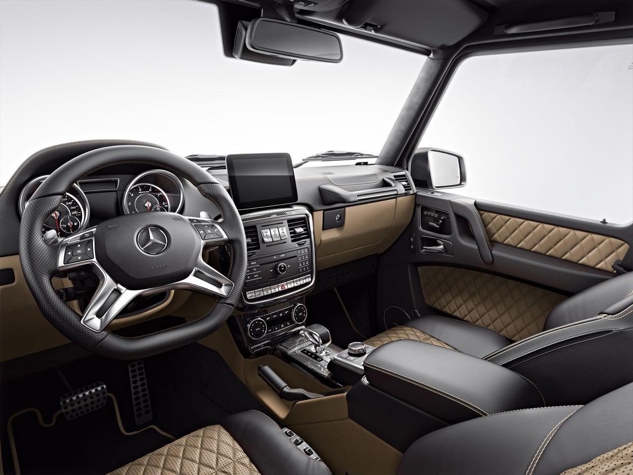 Mercedes-AMG G 63 Exclusive Edition interior