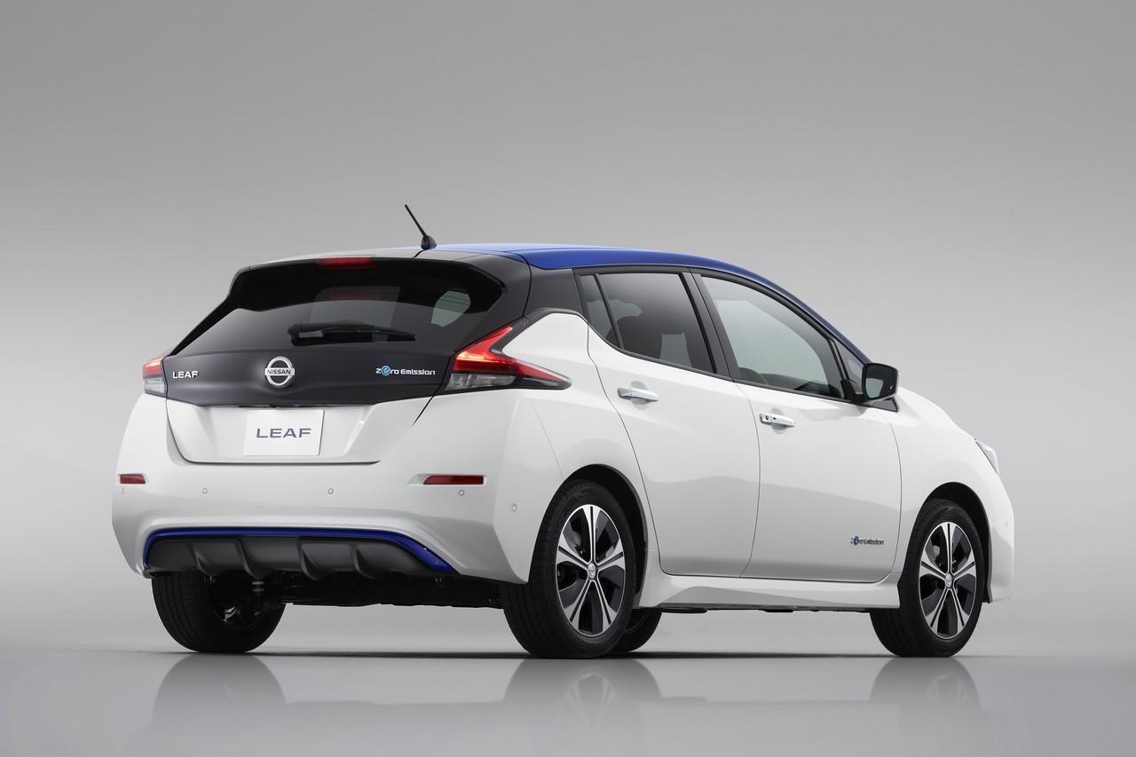 Nissan LEAF 2018 trasera