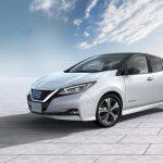 Nissan LEAF 2018 frontal