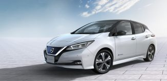 Nissan LEAF 2018 frontal