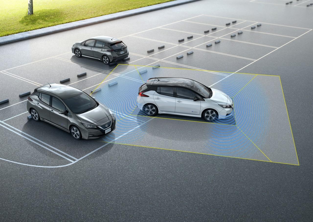 Nissan LEAF 2018 tecnología