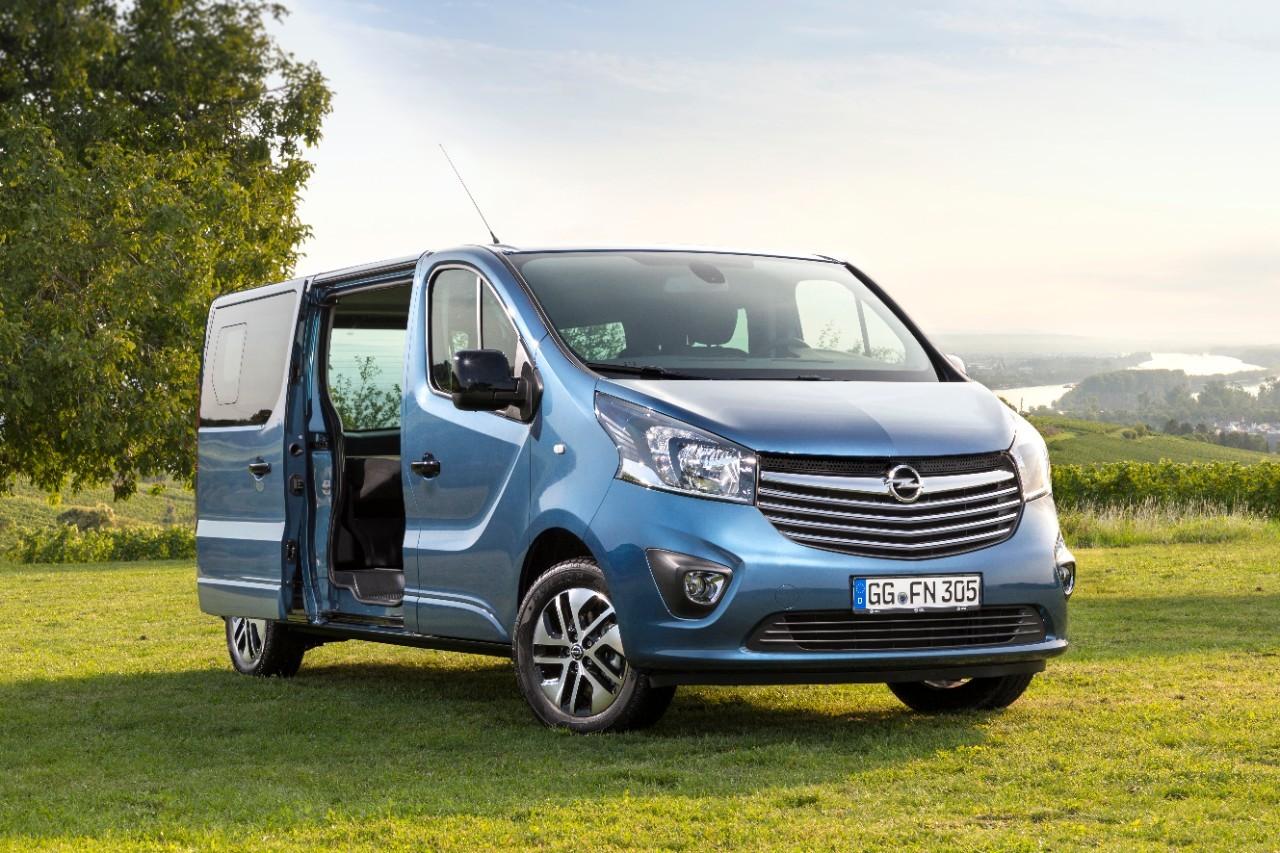 Opel Vivaro Life frontal