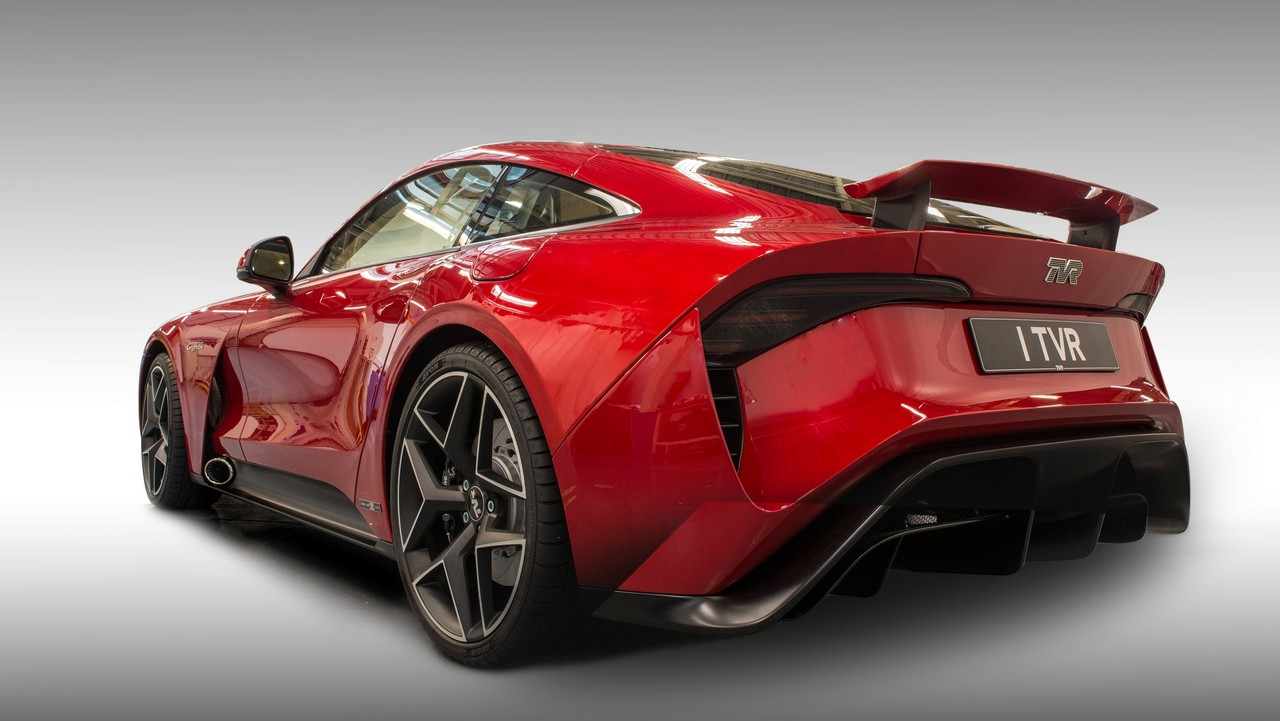 TVR Griffith trasera
