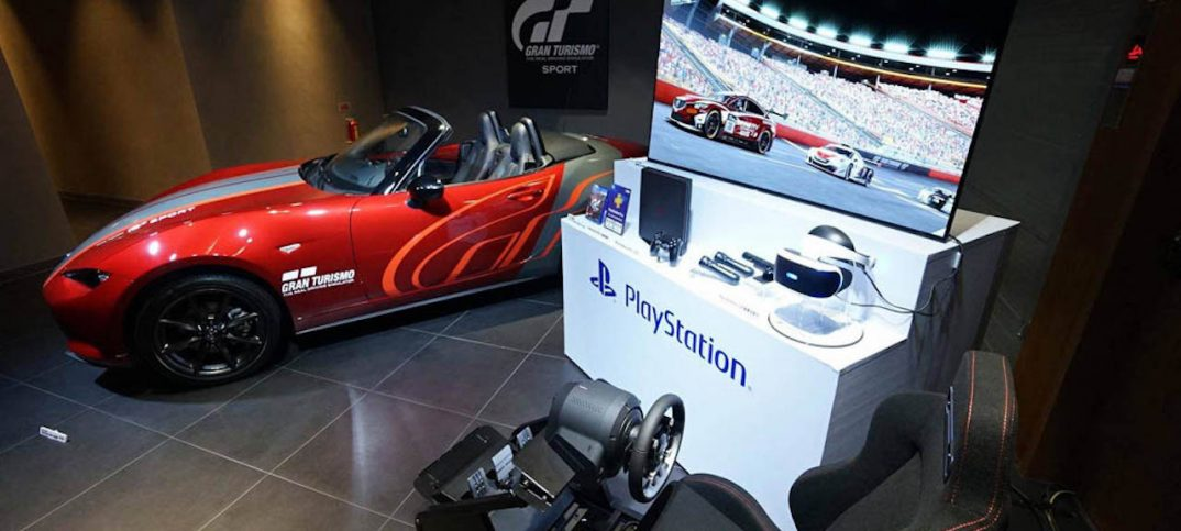 el incre ble pack del gran turismo sport que incluye hasta un mazda mx 5. Black Bedroom Furniture Sets. Home Design Ideas