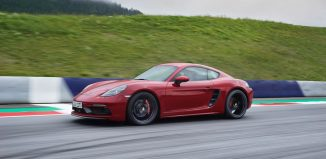 Porsche 718 Cayman GTS dinamica