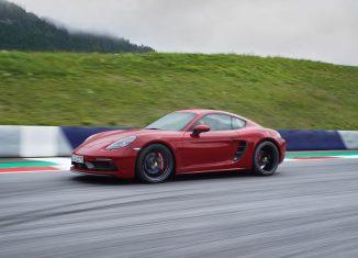 Porsche 718 Cayman GTS dinamica