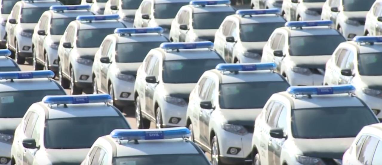 Los 19 coches premium de Ignacio González que usará la Guardia Civil