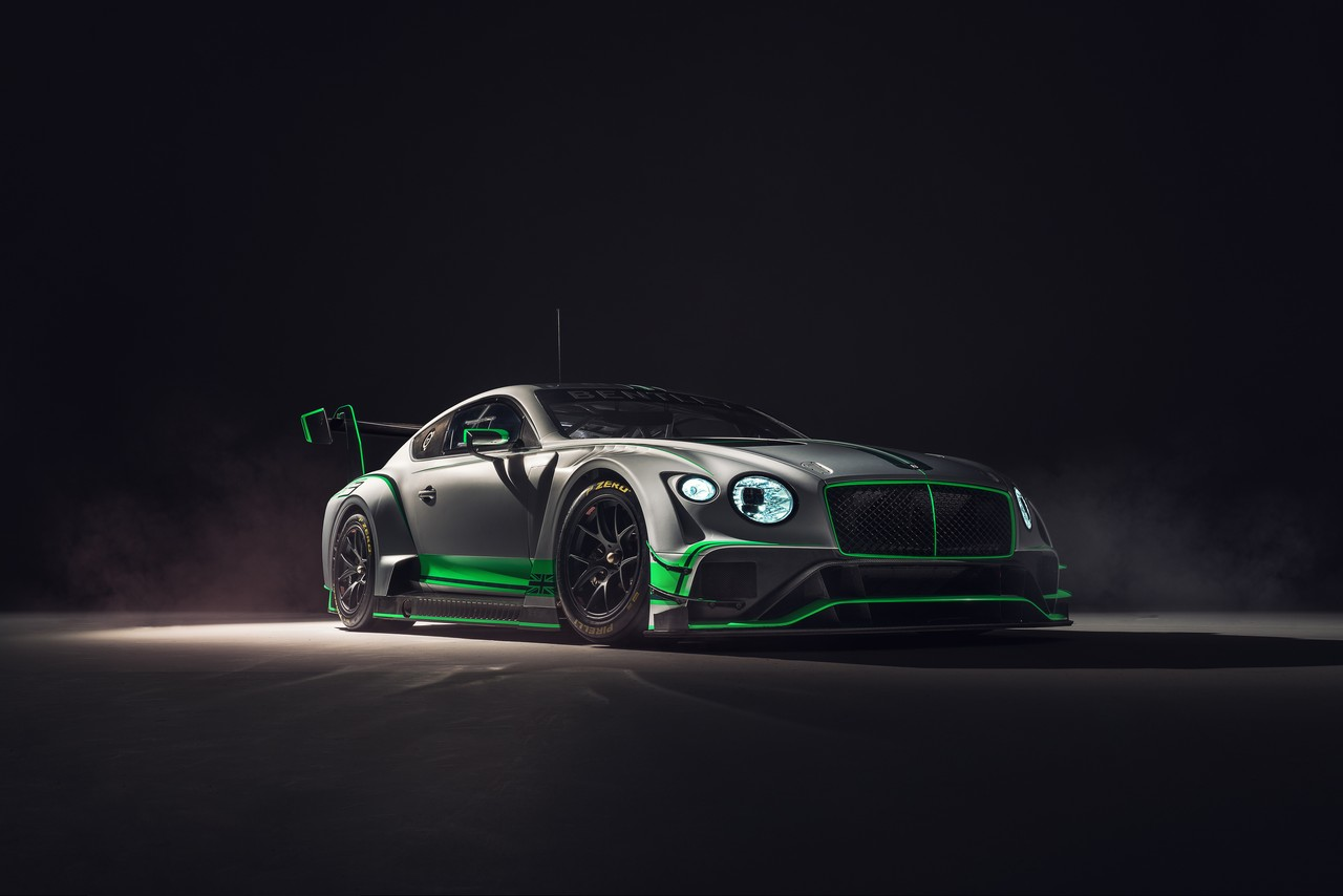 New Bentley Continental GT3 – 1