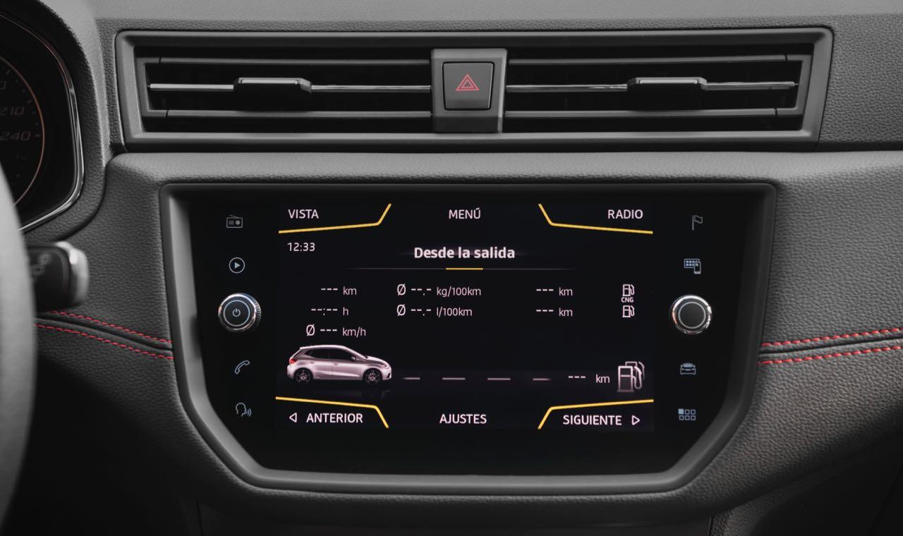 Seat Ibiza TGI 2018, con gas natural comprimido
