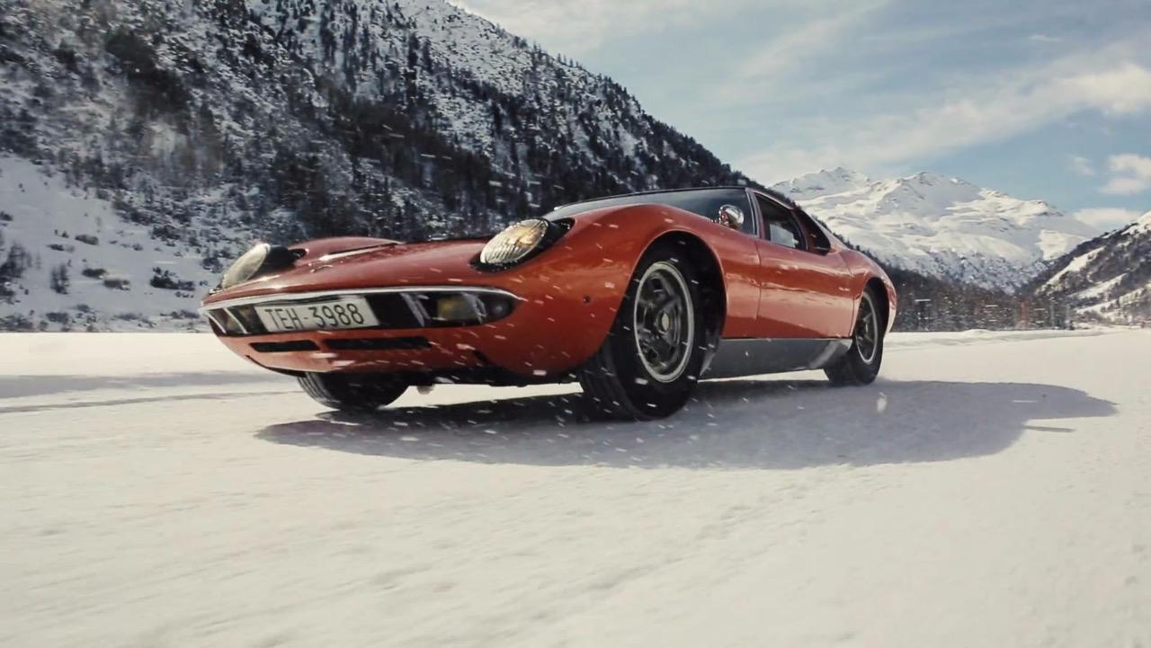 Lamborghini Miura nieve – 1