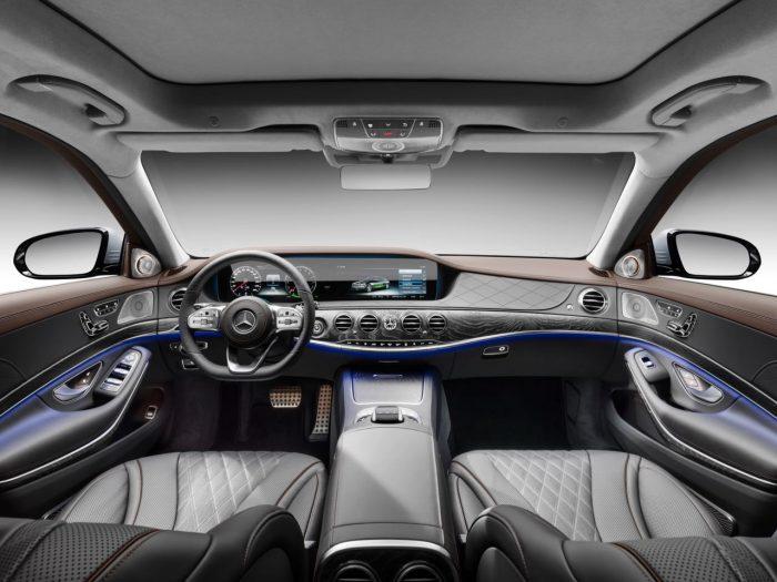 Mercedes S 560e 2018 interior