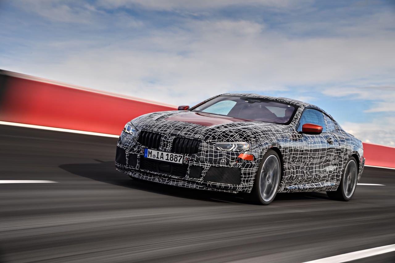 BMW Serie 8 preproducción