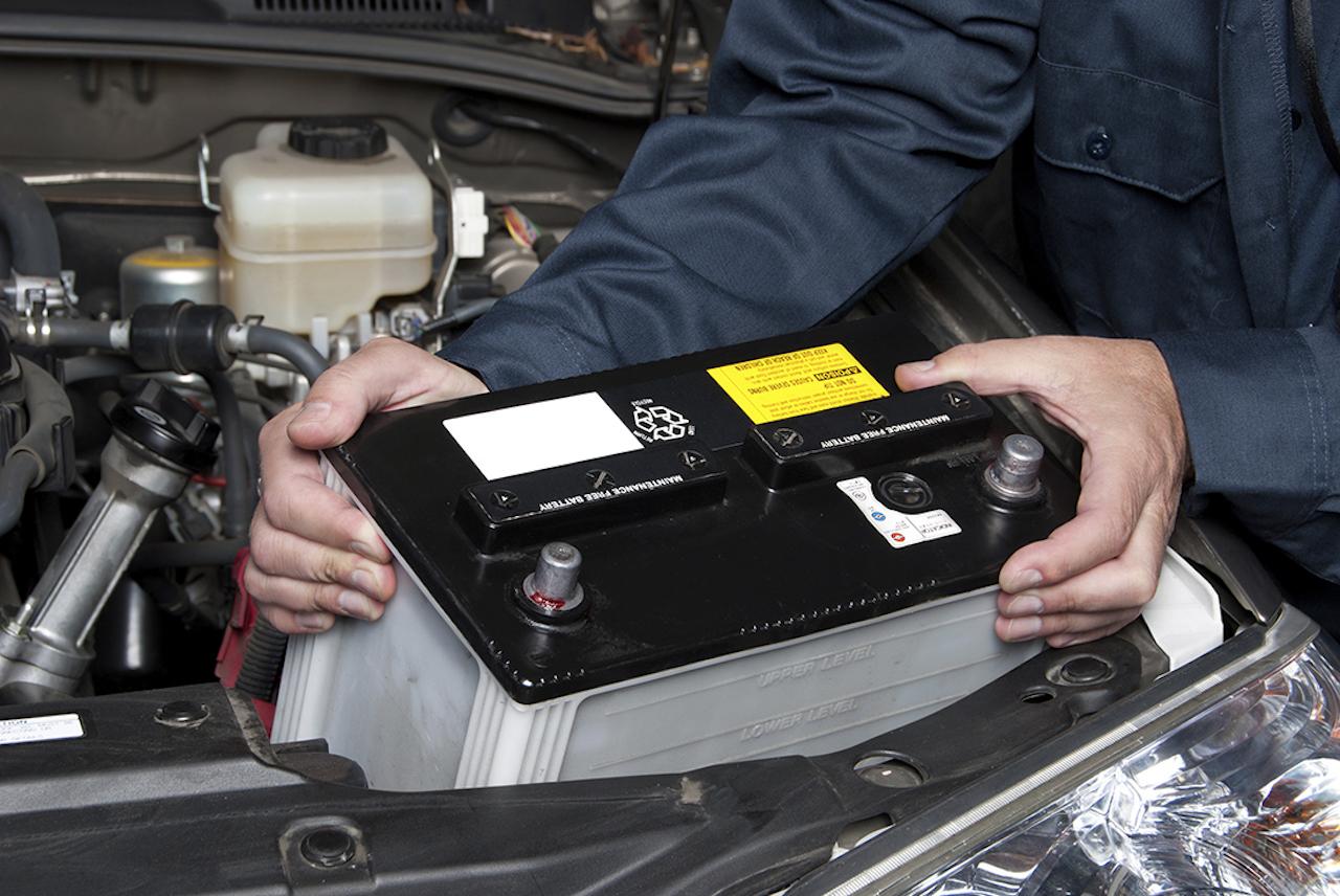 bateria coche cambio