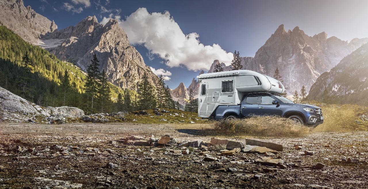 Erste Reisemobilkonzepte auf Mercedes-Benz X-Klasse Basis
