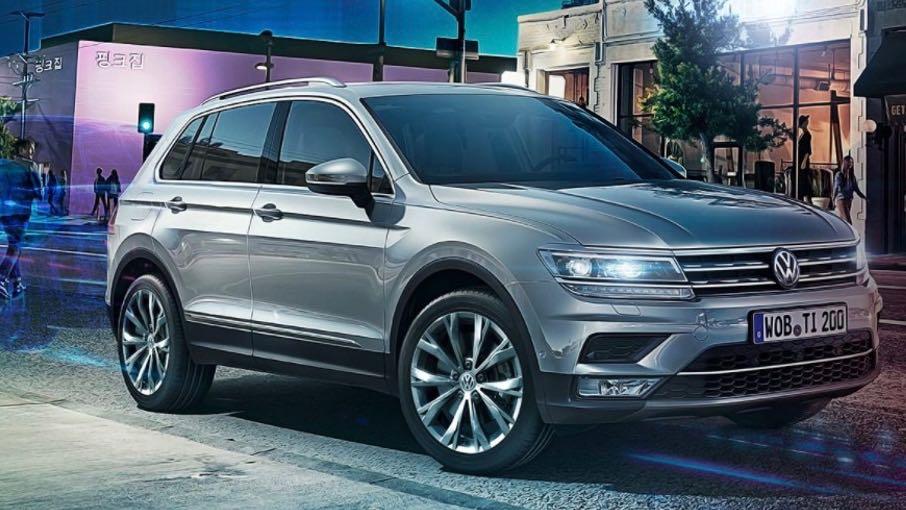 Volkswagen Tiguan Tech-Go 2018 – 2